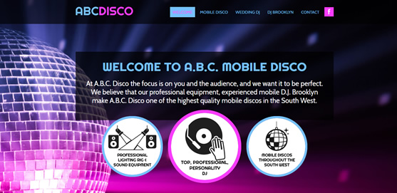 ABC Mobile Disco Website