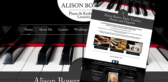 Alison Law Piano Teacher Website