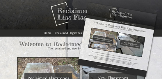 Reclaimed Blue Lias Flagstones Website