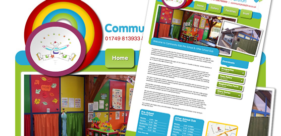 Community Kids Bruton Website