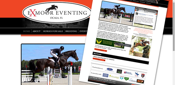 Exmoor Eventing Website