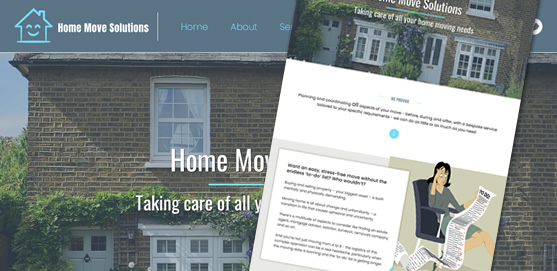 Home Move Solutions Website Design
