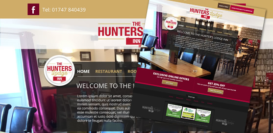 Hunters Lodge Inn Website