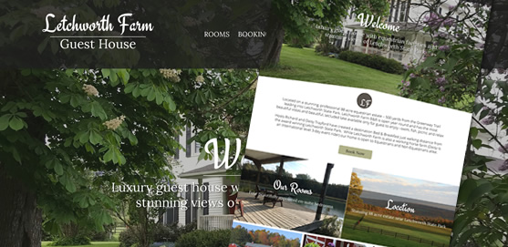 Letchworth Farm B&B Website