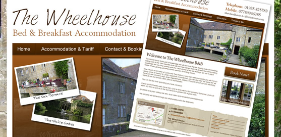 The Wheelhouse B&B Website